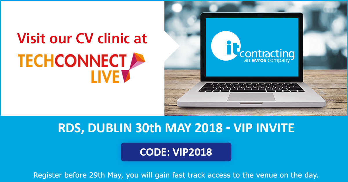 Join itContracting at TechConnect Live 2018!
