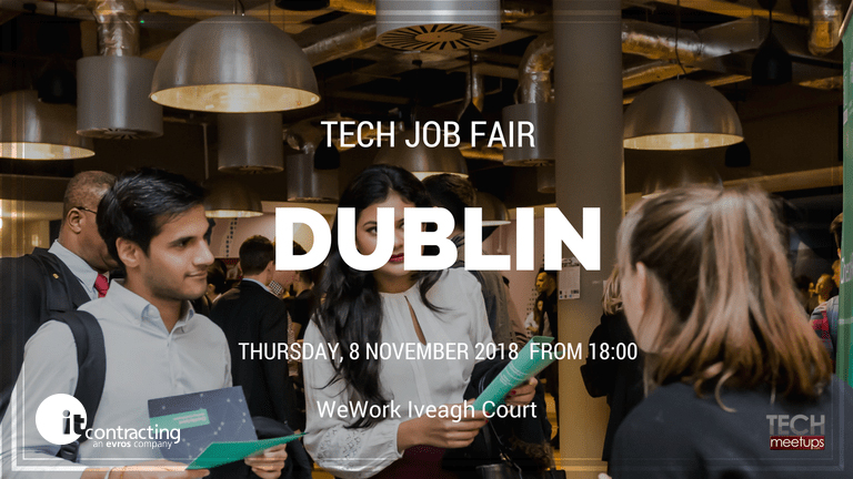Meet itContracting at Dublin Tech Job Fair 2018!