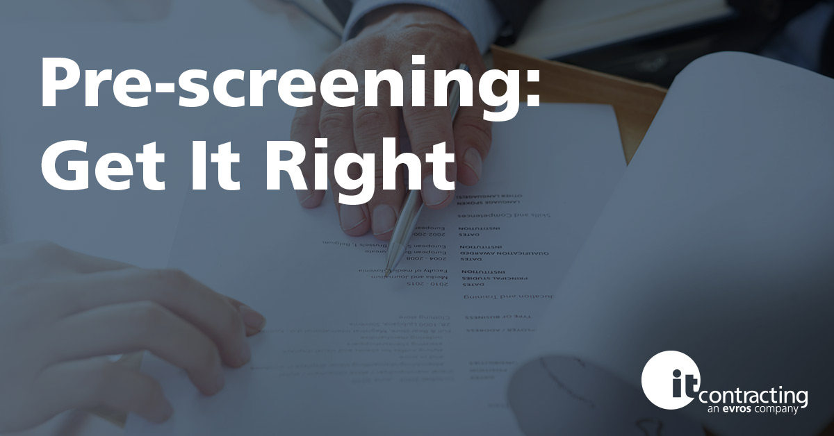 Job Application Pre-screening: What Recruiters Will Ask & Why