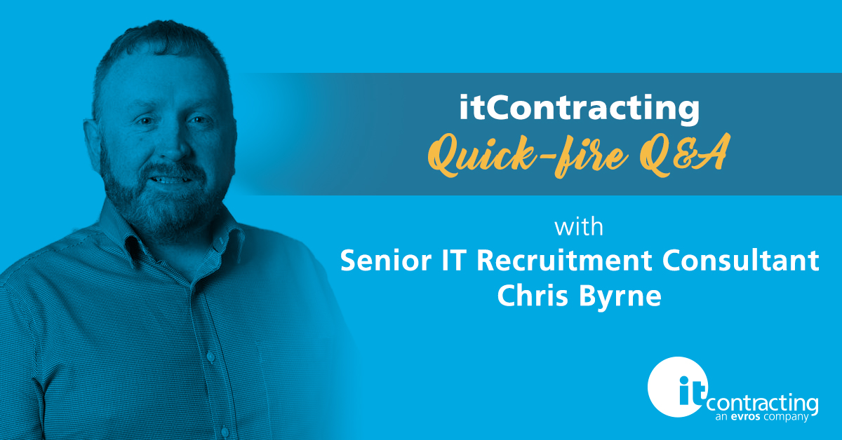 senior it recruitment consultant chris byrne
