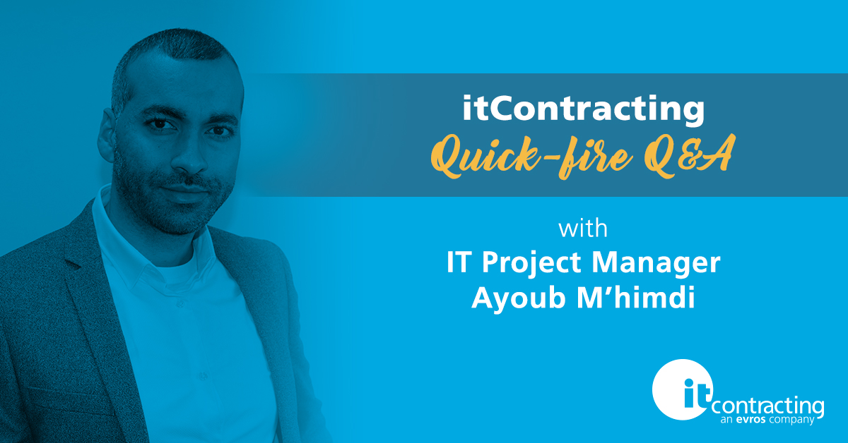 itContracting Quick-fire Q&A: IT Project Manager
