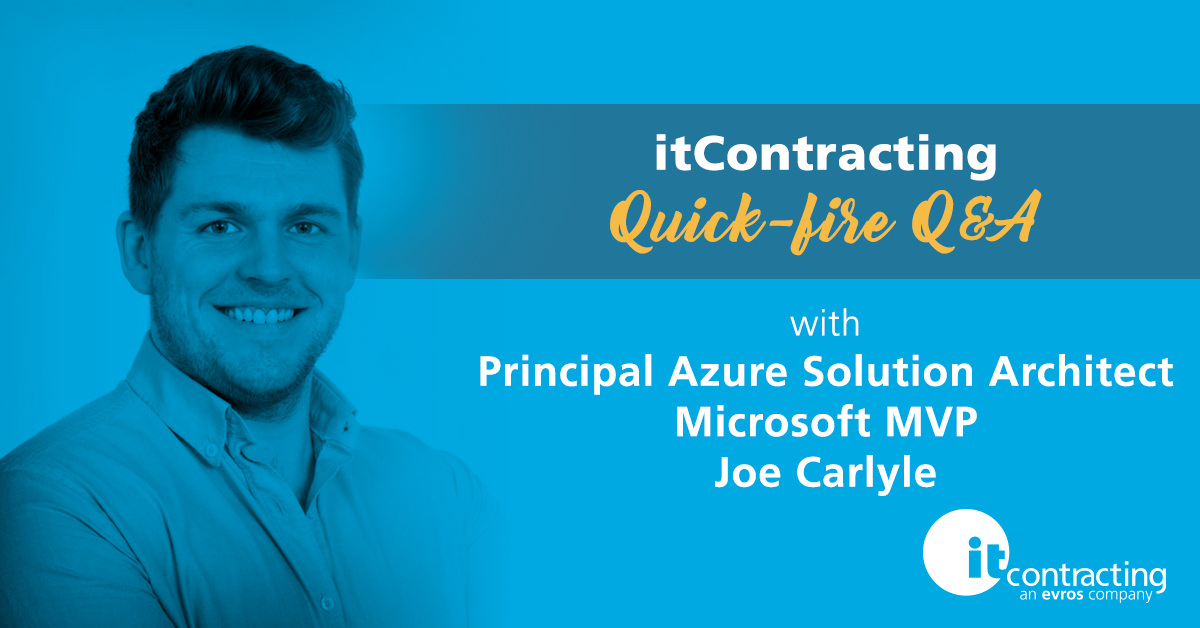 itContracting Quick-fire Q&A: Principal Azure Solution Architect and Microsoft MVP