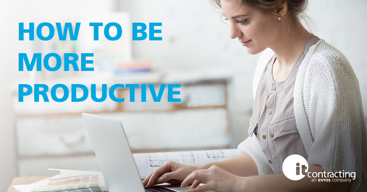 How To Be More Productive (While Working From Home)