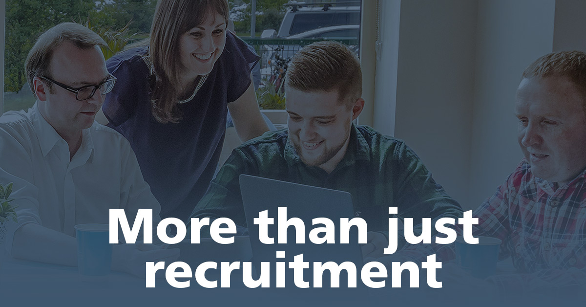 Why come to us? (Not Just Another Recruitment Agency)