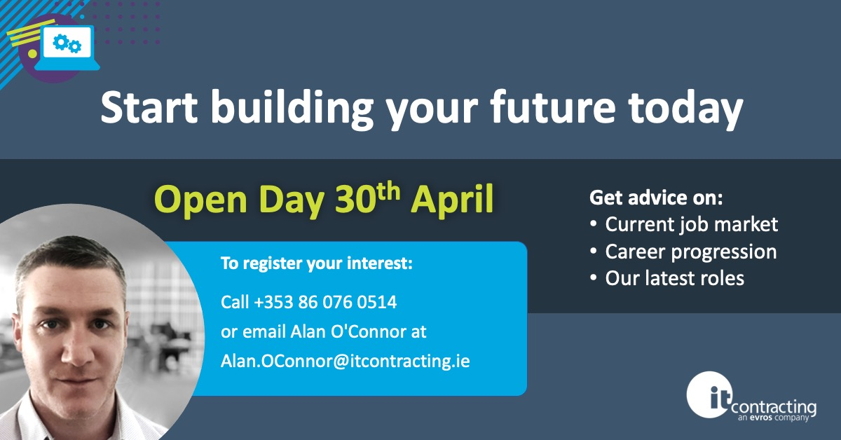 Start building your future today: With Alan O'Connor